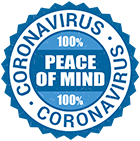 Coronavirus 100% Peace of mind